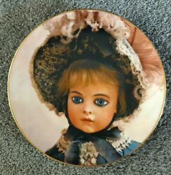 The Bru Doll Collector Plate From The Seeley Series Of French Dolls