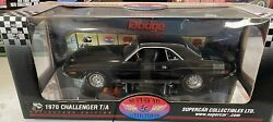 1970 Dodge Challenger Black T/a 340 Highway 61 Collectors Edition Supercar Coll