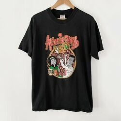 1996 Alice In Chains Vintage Tour Band Rock Grunge Promo Tee Shirt 90s 1990s