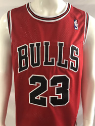 Michael Jordan #23 Chicago Bulls RED Stitched Basketball Jersey All Sizes