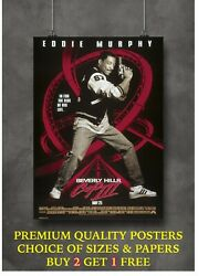 Beverly Hills Cop Iii Classic Movie Art Large Poster Print Gift A0 A1 A2 A3 A4