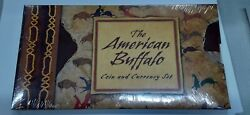 2001 American Silver Buffalo Coin Currency Set W/stamp Silver Cert In Ogp