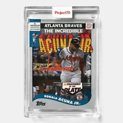 Topps Project 70 Card 286 - Ronald Acuna Jr. By Undefeated - Presale