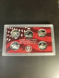 2006-s Us Mint 50 State Quarters Silver Proof Set . 02-21