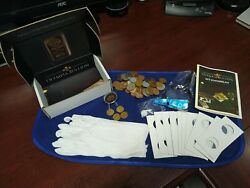 Coin Collecting Starter Kit For New Collectors- Us, Foreign, Silver, Supplies