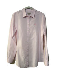 Burberry Brit Womens Pink Button Down Blouse Top Pink Size Small $20.00
