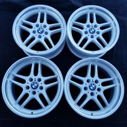 Bmw 740i 740il M-parallel M-sport Style 37 Forged Wheels Rims 5x120 E38 Oem 18
