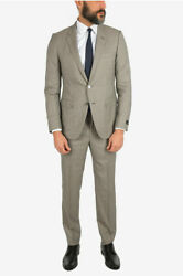 Men Formal Outfits Wool And Silk City 2 Button Suit