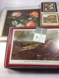 Lot Of 24 Marlborough And Pimpernel Table Mats And Coasters