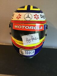 Race Worn ,signed,helmet Used In Driven The Movie By Lead Player Kip Pardue