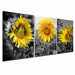 Sunflower Canvas Wall Art Painting Country Decor Pictures Living Room Bedroom