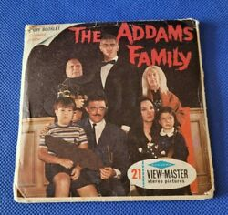 Scarce Sawyer's B486 The Addams Family Tv Show View-master 3 Reels Packet Set