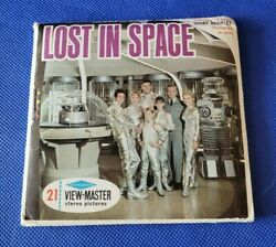 Sawyer's Rare Sci-fi B482 Lost In Space Tv Show 60s View-master Reels Packet
