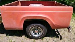 1957-1960 Ford F100 Style Side Short Bed Truck Box Trailer