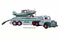 2002 Hess Toy Truck And Airplane Brand New In Box. Free Shipping Mint