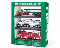 Collectible Hess Truck 2018 Mini Collection Nib Box Sealed