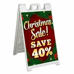 Christmas Sale Save 40 Signicade 24x36 A Frame Sidewalk Sign Double Sided