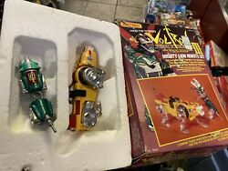 Matchbox Voltron Iii Yellow And Green Mighty Lion Set 1984 Vintage Toys Die Cast