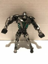 Real Steel Jakks Pacific 2011 The King Of Robots Zues Light-up Green Good Cond