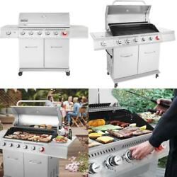 Royal Gourmet Ga6402s Premier 6 Bbq Stainless Steel Propane Gas Grill With Sear