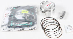 Top End Piston And Gasket Kit 93mm +1mm Over Polaris Atp 500 2004-2005 10.21 Comp