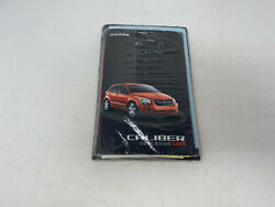 2010 Dodge Caliber Owners Manual Handbook Set With Case Oem Z0a0115