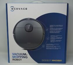 Ecovacs Deebot Ozmo T8 Robotic Vacuum Cleaner And Mop With Truedetect In Gray