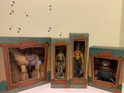 Young Epoch Toy Story Roundup Figure Set Sepia Woody/jessie/prospector/bullseye