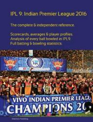 Ipl9 Indian Premier League 2016, Paperback By Barclay, Simon, Like New Used,...