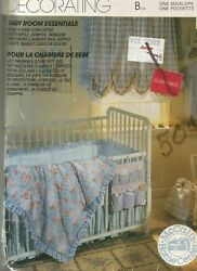 743 Sewing Pattern Mccalls Home Decor Uncut Baby Diaper Stacker Supply Caddy