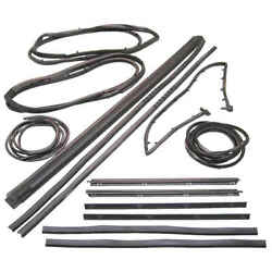 13 Piece Weatherstrip Kit For Wranger With Movable Vent For 87-95 Jeep Wrangler