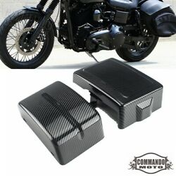 Battery Side Cover Motorcycle For Harley Dyna Fat Bob Fxdf Fxdl Fxdb Fxdc 06-17