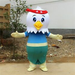 2020 New Cock Costume Rooster Mascot Costume Halloween Christmas High-quality