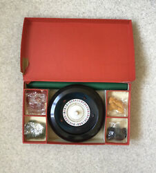 Vintage K And C Ltd Boxed Bakelite Roulette Made In England