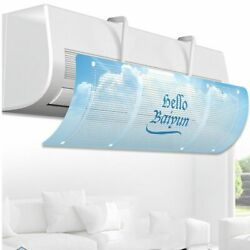 Adjustable Air Conditioning Wind Deflector Baffle Household Anti-direct Blowing
