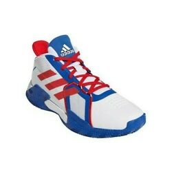 Adidas Court Vision 2 White Red Royal Blue Menand039s Size 11 Basketball Shoes Fy9378