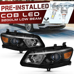 [newest Tech Cree Led Bulbs Built-in] 16-18 Chevy Malibu Replacement Headlight
