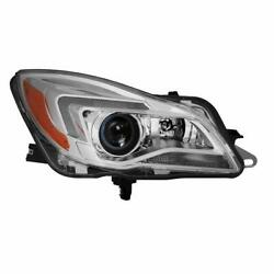 For 14-17 Buick Regal Hid/xenon Model Headlight Led Drl Bar Lamp [right Rh Side]