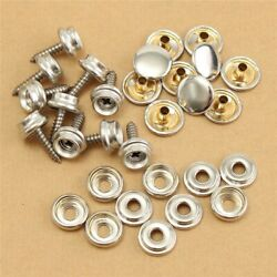 Canvas Snap Fasteners Fast Fabric Repair Kit Stud Button Leathers 30pcs