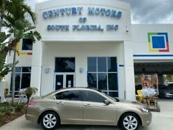 2008 Honda Accord Ex-l Certified 2 Owner Leather Sunroof Non Smoker