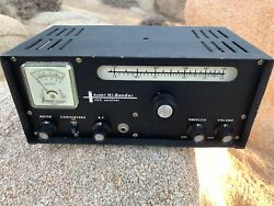 Buddy Hi-bander 6 And 2 Meter Ham Radio Receiver For Parts As-is Condition