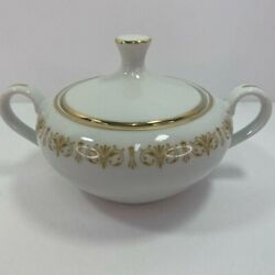 Sheffield Fine China Sugar Bowl Dish With Lid. Japan. Imperial Gold. 504 Y