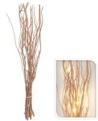 Led Willow Branches - 12 Rose Gold Twigs Warm Led Lights Home Festive Christmas