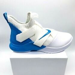 Nike Mens Lebron Soldier Xii Basketball Shoes White At3872-118 2018 12.5 M New