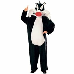 Rubie's Costume Looney Tunes Deluxe Sylvester The Cat Costume, Black/white, One