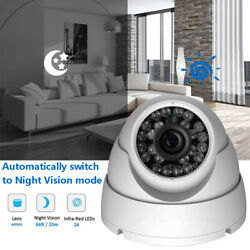 Home Security Camera Indoor Outdoor Dome Baby Monitoring Cctv With Night Vision