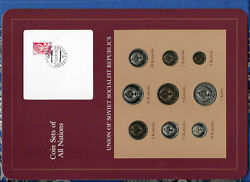 Coin Sets Of All Nations Ussr Russia 1976-1979 1235101550 Kopeck 1976 Unc