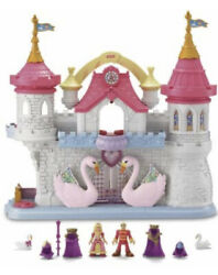 Fisher-price Precious Places Swan Palace W/ Extras New New