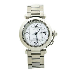 Pasha 2324 White Dial Stainless Steel Unisex Automatic Watch 35mm