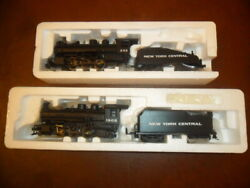 Bachmann - New York Central Nyc - 2 Steamers 0-6-0 And 2-6-2 - Analog - New